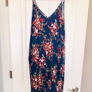 💄Love Stitch maxi dress with pockets s/m💄
